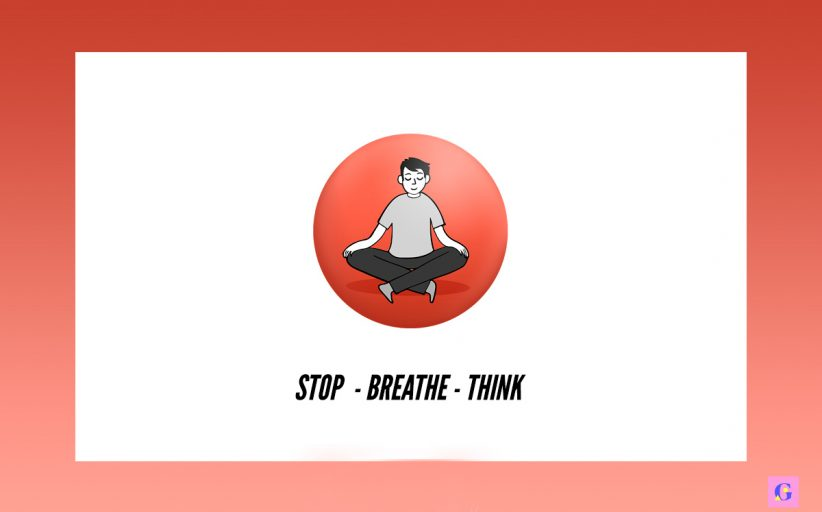 APP VAN HET MOMENT: STOP - BREATHE - THINK